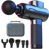 Massagepistole Massage Gun, RENPHO Mini Massagepistole bis zu 3200U/min Massage Gun Massagegerät mit 2500mAh Akku und USB C Ladeanschluss zur Linderung von Muskelschmerzen, Schwarz