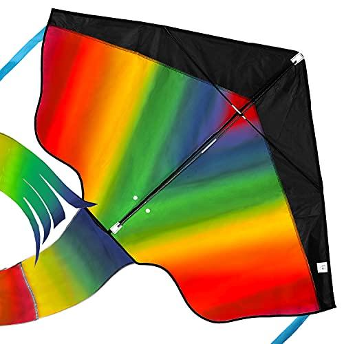 Regenbogen Leichtwinddrache