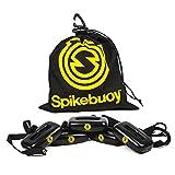 Spikeball Spikebuoy auf dem Wasser, Zubehör, Spielen Sie im Pool oder am Strand, Verwendung mit Standard und Pro Sets, inklusive Beinschwimmer und Ankertasche