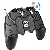 YouFirst Pubg Mobile Controller [ 6 Finger Gamepad/ Ohne Lüfter ] COD Mobile Controller   Pubg Controller   Mobile Trigger   Handy Game Controller