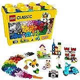 LEGO 10698 Classic Große kreative Bausteine-Box, Aufbewahrungsbox, Bunte Bausteine für LEGO Baumeister, Bauset*