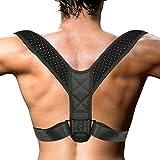 Yesloo Haltungskorrektur, Rückenstütze, Rücken Geradehalter, verbesserte Körperhaltung, Schultergurt, Männern und Frauen (Unisex)