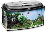 Aquael Aquarium Set Classic LT inkl. Abdeckung, Filter, Heizer, LED Beleuchtung (60x30x30 gewölbt)*