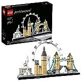 LEGO 21034 Architecture London Bauset, Skyline-Kollektion, London Eye, Big Ben, Tower Bridge, Geschenkidee für Kinder und Erwachsene, Bauset*