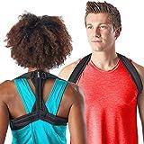 Modetro Sports Rücken-Geradehalter für Damen u. Herren – Schultergurt zur Haltungskorrektur für einen geraden Rücken – Lindert Schmerzen – inkl. eBook*