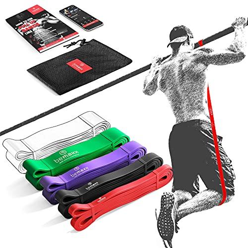 BeMaxx Fitnessband Set
