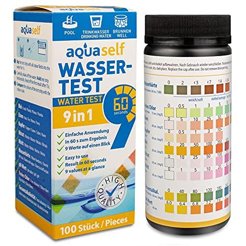aquaself 9- in -1 Wasserteststreifen